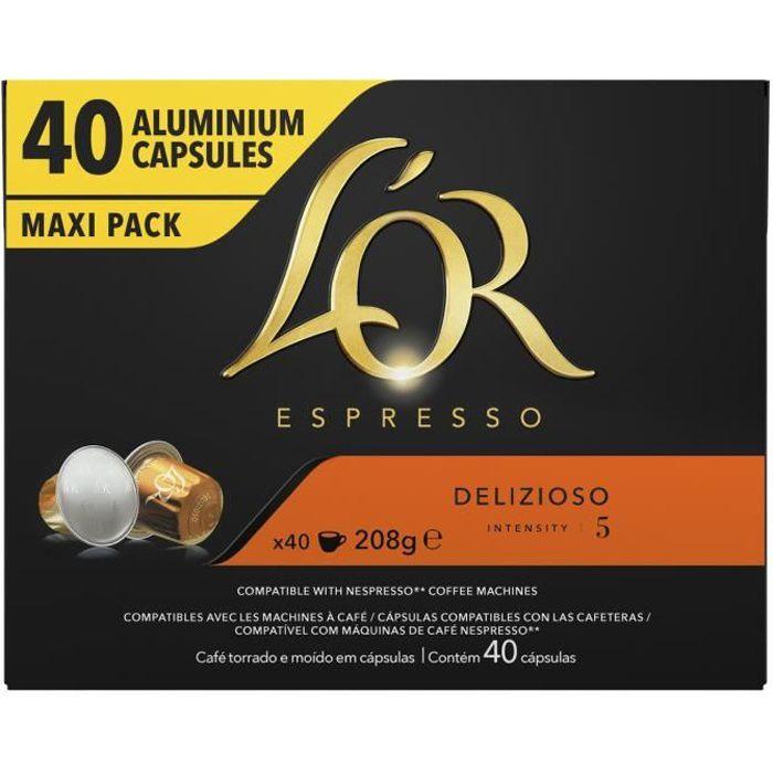 L'OR ESPRESSO Café Delizioso - 40 capsules - 208 g