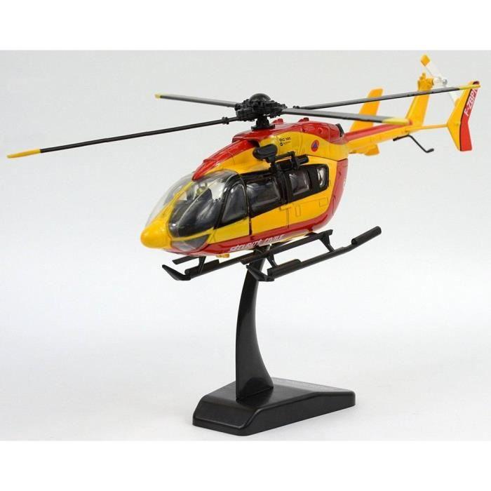 Maquette Hélicoptère EC-145 Dragon Sécurité Civile Pompiers 1/43