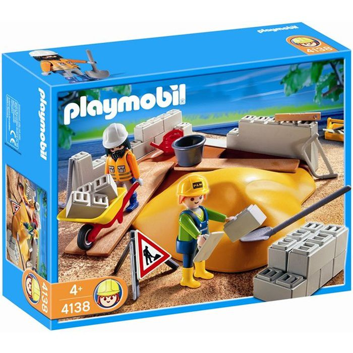 PLAYMOBIL 4138 CompactSet Construction
