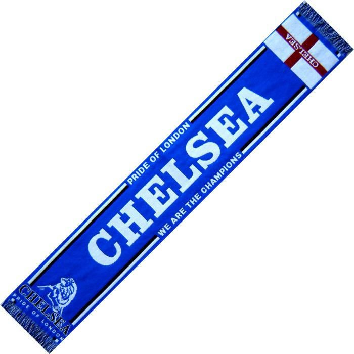 ECHARPE CHELSEA Angleterre No drapeau maillot fanion casquette ...