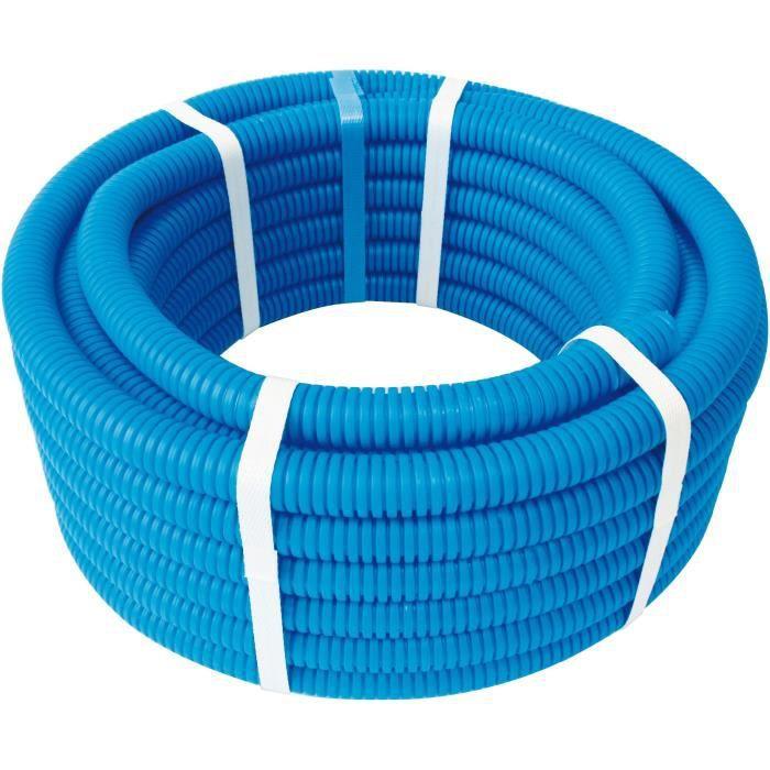 SOMATHERM FOR YOU Couronne de Tube PER gainé - Ø12 - 15 m - Bleu