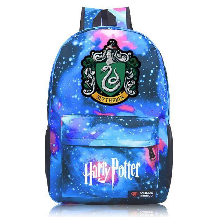 MOBIGARLAN Sac à Dos - Sac d'École cartable étudiant Harry Potter imprimé pour enfant adolescent modèle 16
