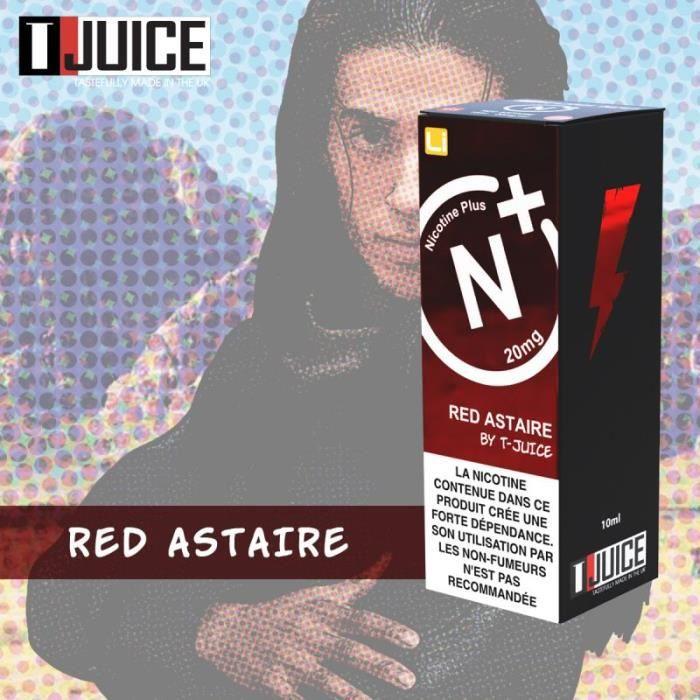 Red Astaire Sel de Nicotine 20mg T-Juice - AMAVAPE
