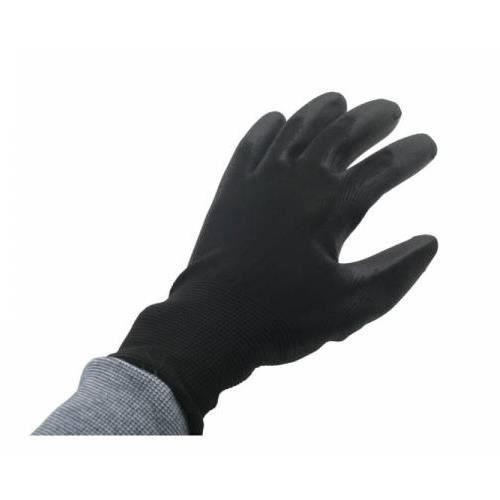 Gants de travail - Gants d'Atelier PU FLEX Nylon noir