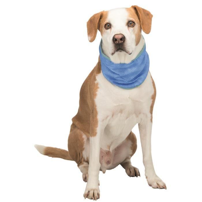 TRIXIE Bandana rafraîchissant PVA - L : 38–52 cm - Pour chien