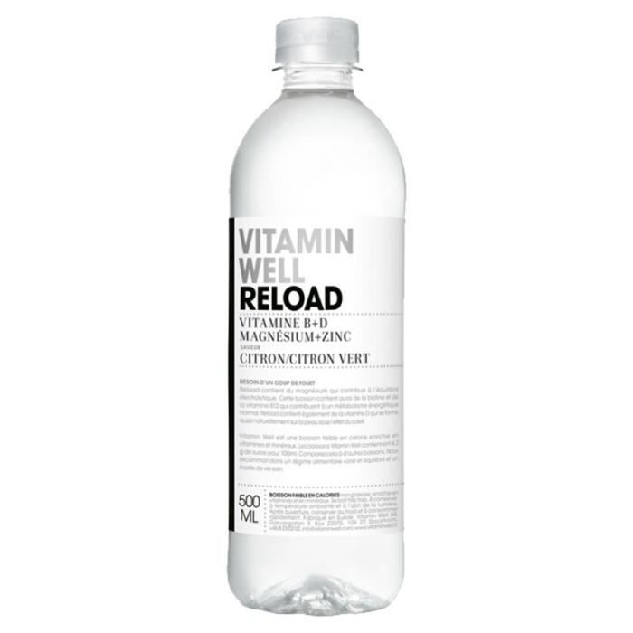 Vitamin Well - Vitamin Well Reload 50cl (pack de 12)