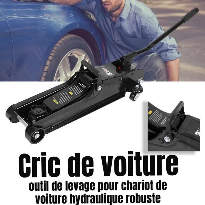 Cric de Chariot hydraulique 2.5T de levage de pneus de réparation voiture LAM79