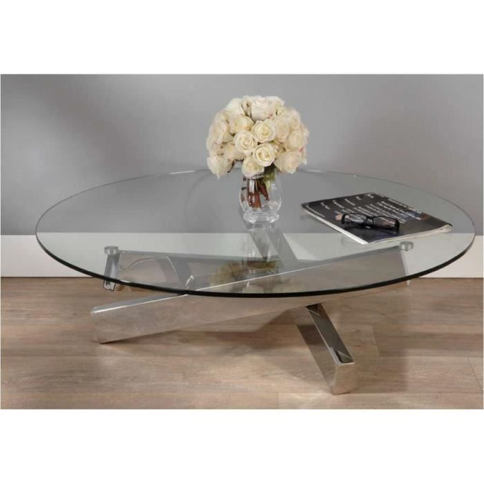 Table basse ronde en verre design dimensions achat - Table basse ronde en verre design ...