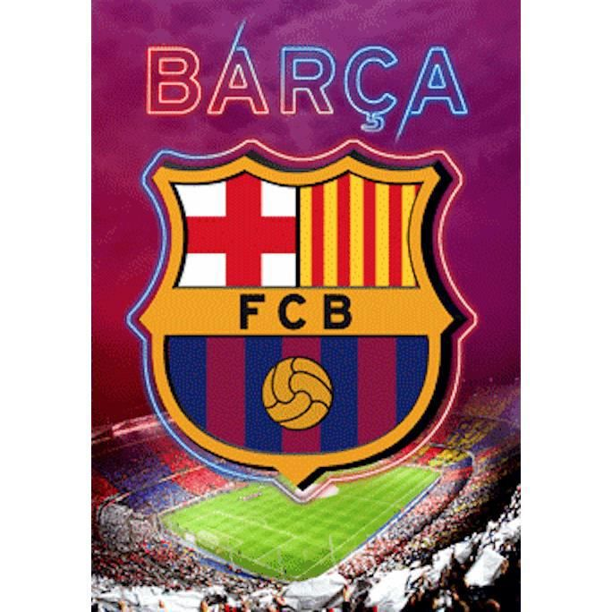 Affiche bar a barcelone foot poster 3d achat vente affiche cdiscount - Logo barcelone foot ...