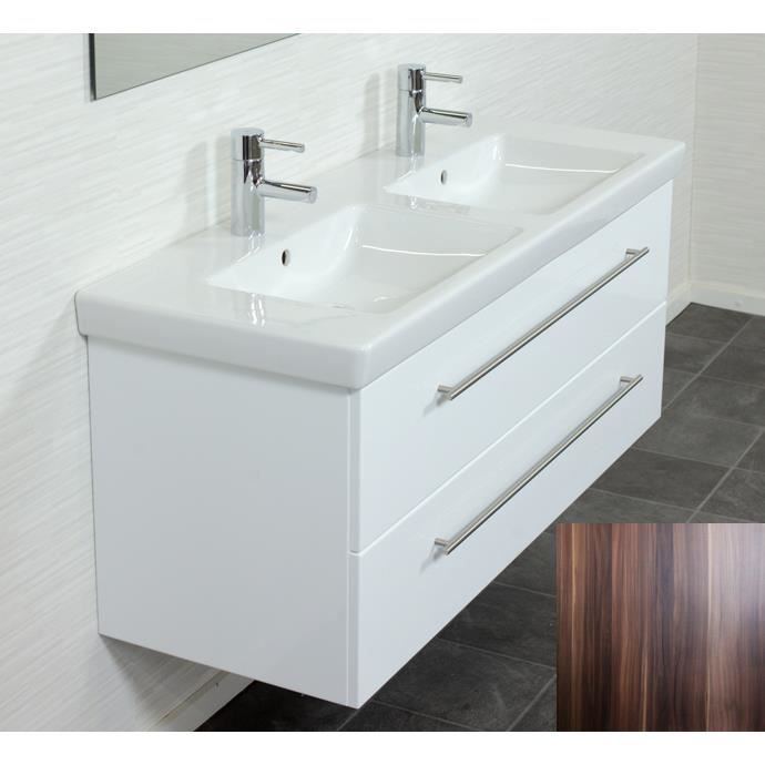 Villeroy boch subway 2 0 130 cm noix aspect a achat for Meuble subway villeroy et boch