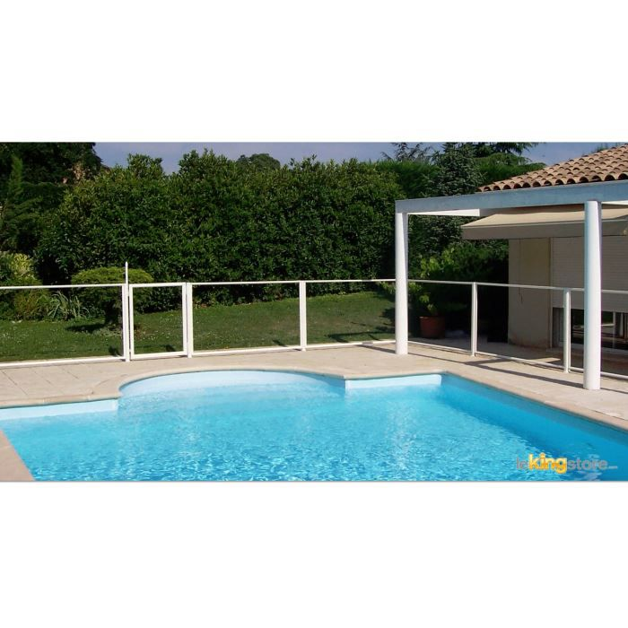 Barri re piscine transparence portillon 90x117 cm achat for Barriere piscine