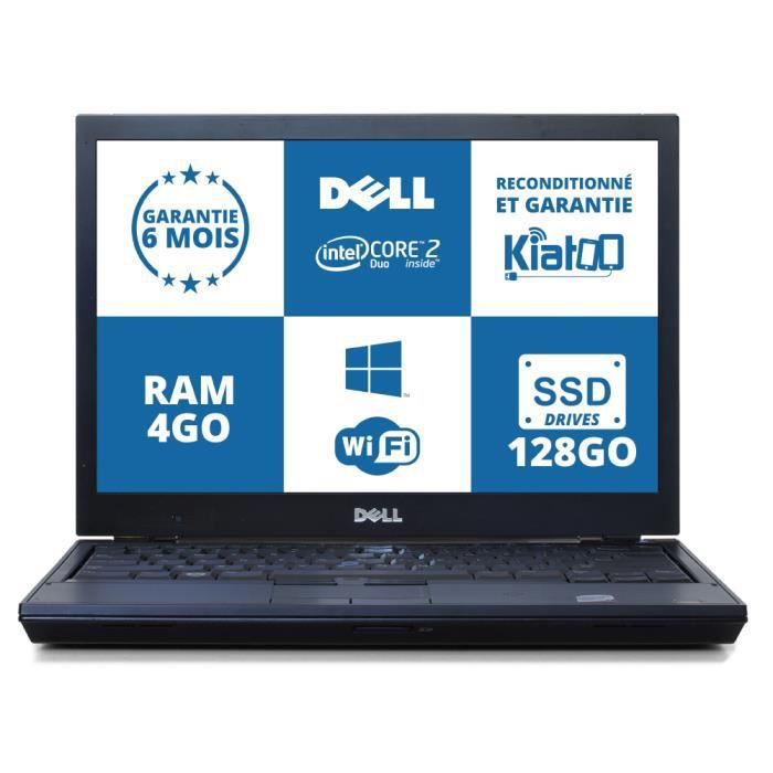 ordinateur portable dell latitude e4300 core de duo 4go. Black Bedroom Furniture Sets. Home Design Ideas
