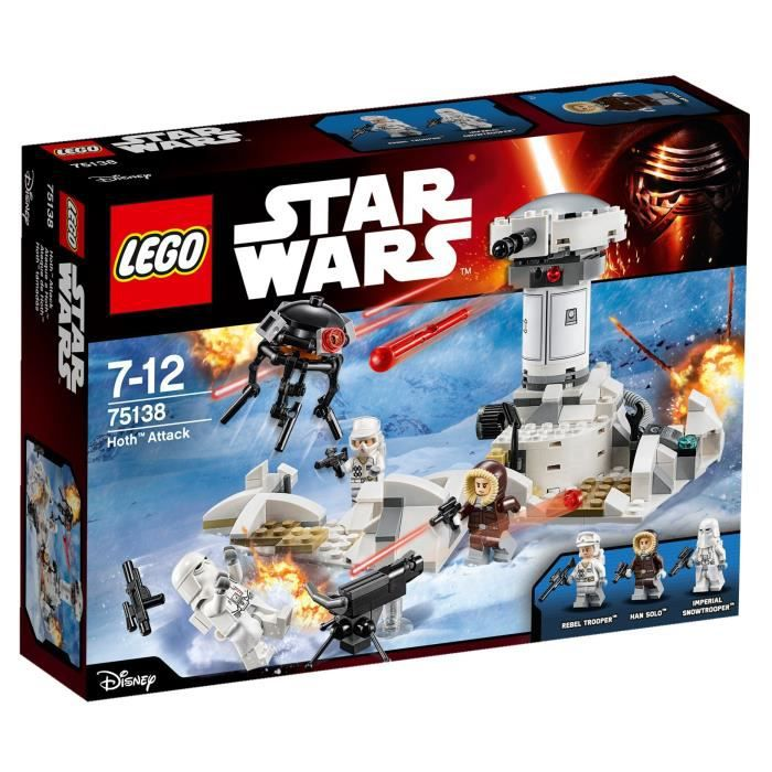 ASSEMBLAGE CONSTRUCTION LEGO® Star Wars™ 75138 Hoth™ Attack