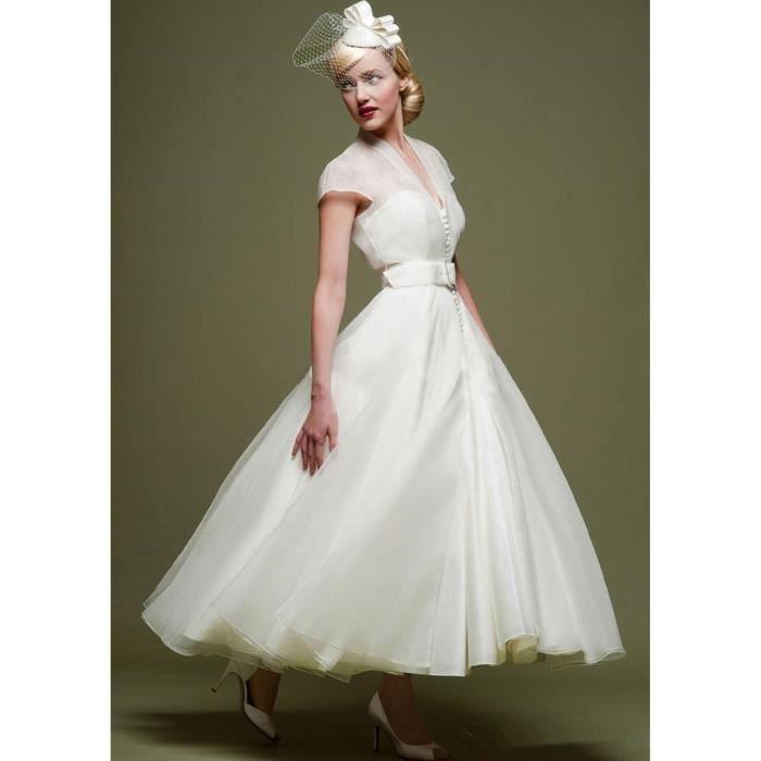 Nouveauté Robe de soirée mariage mariée courte