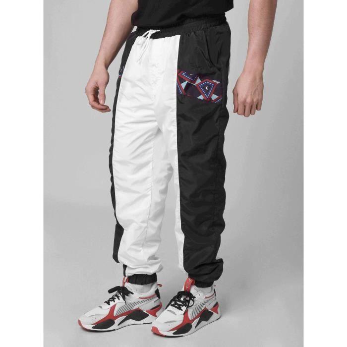 pantalon homme noir et blanc