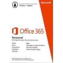 microsoft office 365 personnel t l charger cdiscount. Black Bedroom Furniture Sets. Home Design Ideas