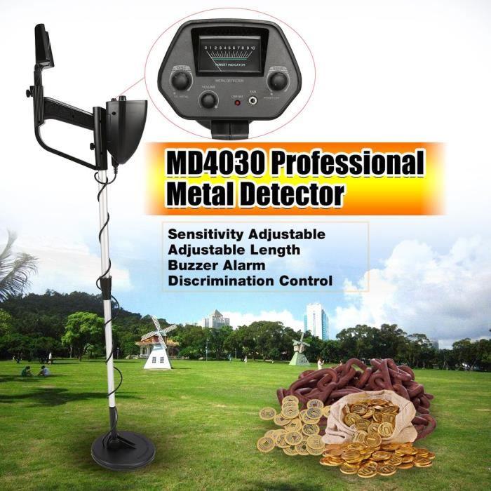 DÉTECTEUR DE MATÉRIAUX Professionnel détecteur de métaux souterrain MD403