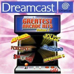 JEU DREAMCAST Midway s Greatest Arcade Hits Vol 1 Dreamcast