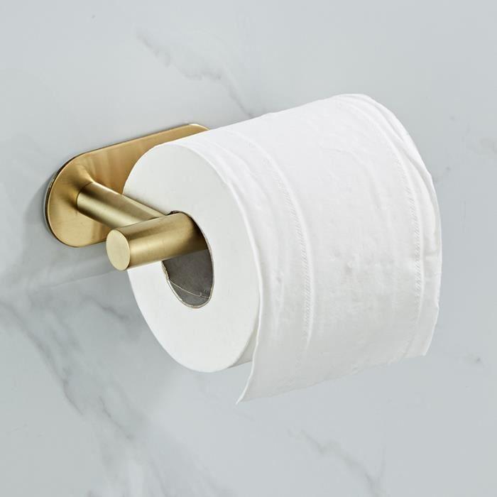 Rmckuva Porte Papier Toilette Accessoires En Laiton De Salle De Bains DH/ôtel De Cru Mont/és Avec Le Mur De Couverture Mont/é Avec Les Accessoires Complets Noirs