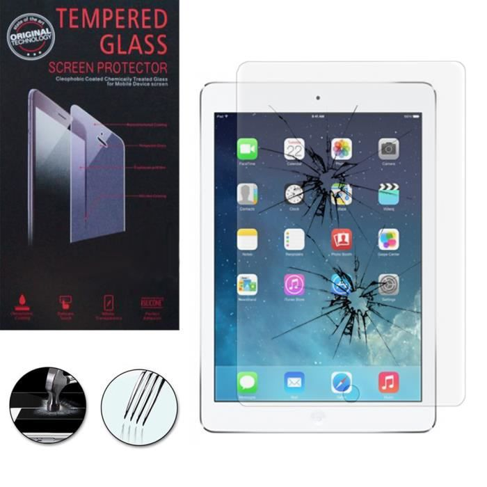1 film verre tremp apple ipad 5 air achat housse tui pas cher avis et meilleur prix. Black Bedroom Furniture Sets. Home Design Ideas
