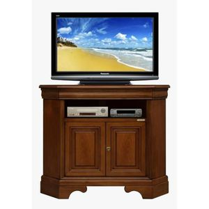 meuble tv angle bois achat vente meuble tv angle bois. Black Bedroom Furniture Sets. Home Design Ideas
