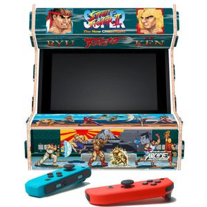 SUPPORT CONSOLE Arcade Mini - Street Fighter - pour Switch