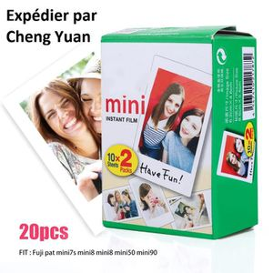 PAPIER PHOTO INSTANTANE Fujifilm Instax Mini Film - Lot de 5x 20 films for