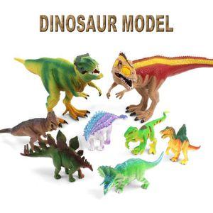 PUZZLE Lifelike Modèle de dinosaure en plastique environn