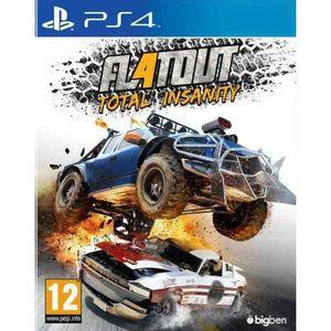 JEU PS4 Flatout 4 - Total Insanity Jeu PS4