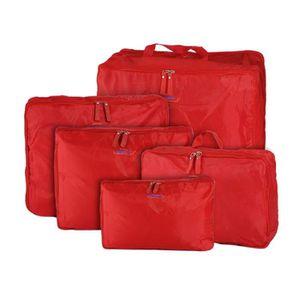 SET DE SACS DE VOYAGE Sac de Rangement Imperméable Bagage Portable Poche