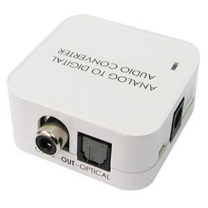 ADAPTATEUR AUDIO-VIDÉO  Convertisseur audio SPDIF numérique - RCA coaxi…