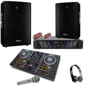 PACK SONO PACK SONO 1200W + CONTRÔLEUR PARTY MIX NUMARK + AM