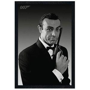 AFFICHE - POSTER Maxi Poster 61 x 91,5 cm cadre en bois noir The Na