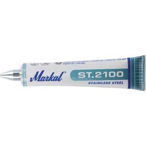 MARQUEUR Marqueur métallique ST2100 rouge 50ml (Par 10)