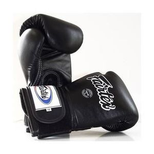gants de boxe cuir fairtex noir prix pas cher cdiscount. Black Bedroom Furniture Sets. Home Design Ideas
