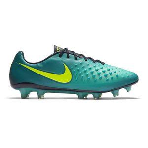 Promo Chaussure De Foot Nike Magista Opus II FG Bleu Grise Pas Cher