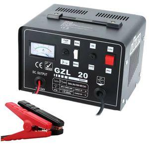 CHARGEUR DE BATTERIE Chargeur/Démarreur de Batterie Professionnel 12 Am