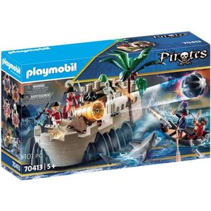 UNIVERS MINIATURE PLAYMOBIL 70413 - Les Pirates - Bastion des soldat