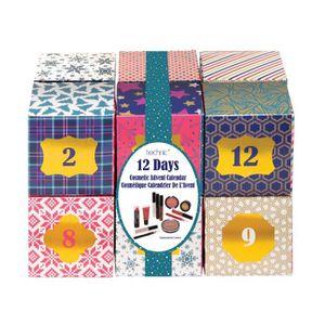 COFFRET CADEAU BEAUTÉ Le calendrier de l'avent - 12 jours -