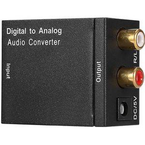 REPARTITEUR TV convertisseur audio numérique vers analogique (Hôt