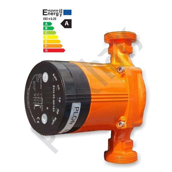 Circulateur BET 25 – 40 / 180 pour chauffage central
