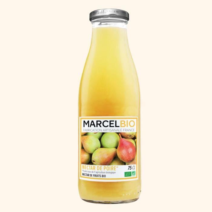 MARCEL BIO - Nectar de Poire Bio 75cl