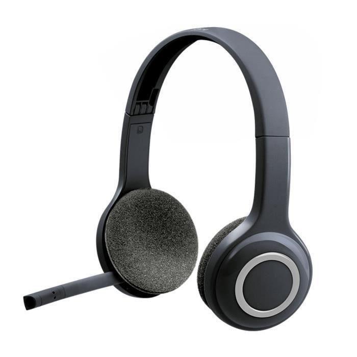 Logitech H600 sans fil 2,4 Ghz casque avec micro pour Pc