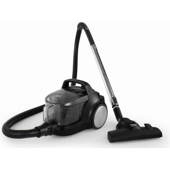 Beko - aspirateur sans sac aaca 77db noir - vco42701ab