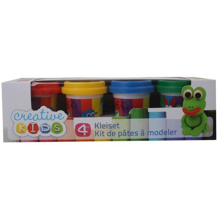 Creative Kids Clay Set Basis 4 pièces 55 grammes