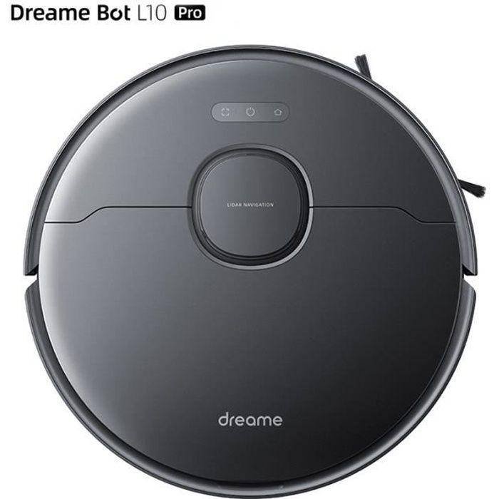 Dreame Bot L10 Pro Robot Aspirateur 4000Pa Suction 5200mAh Batterie