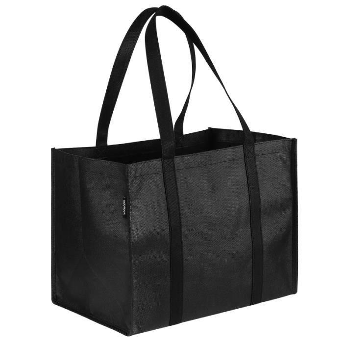 5 pcs Sacs d'épicerie pliable réutilisable shopping totales sac fourre-tout sac de course en sac jeux de recre - jeux d'exterieur