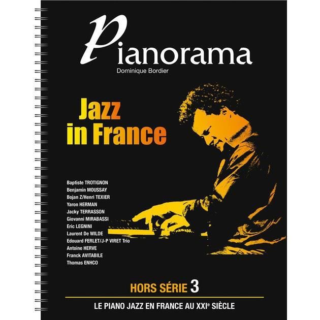 Pianorama : Jazz in France - Piano - Hors Série Volume 3 - Partition + CD