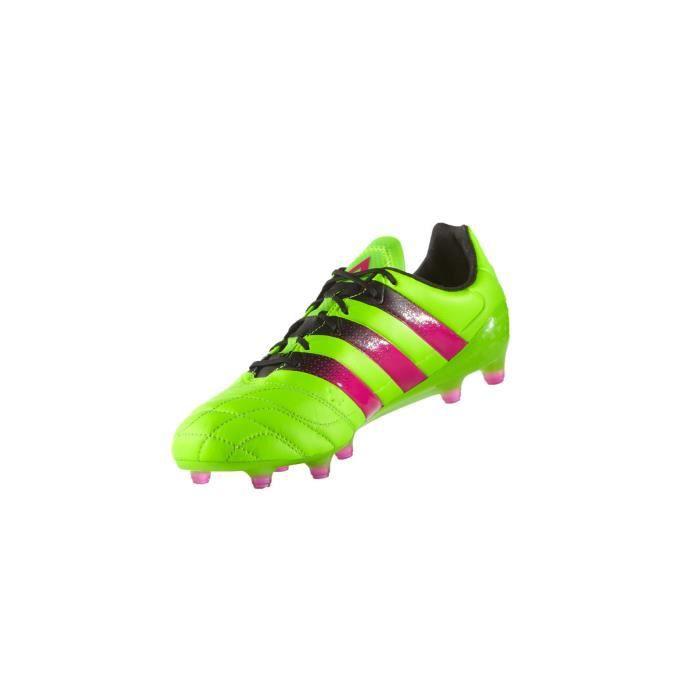 ADIDAS PERFORMANCE Chaussures de football Ace 16.1 FG/AG - Homme - Vert et Rose