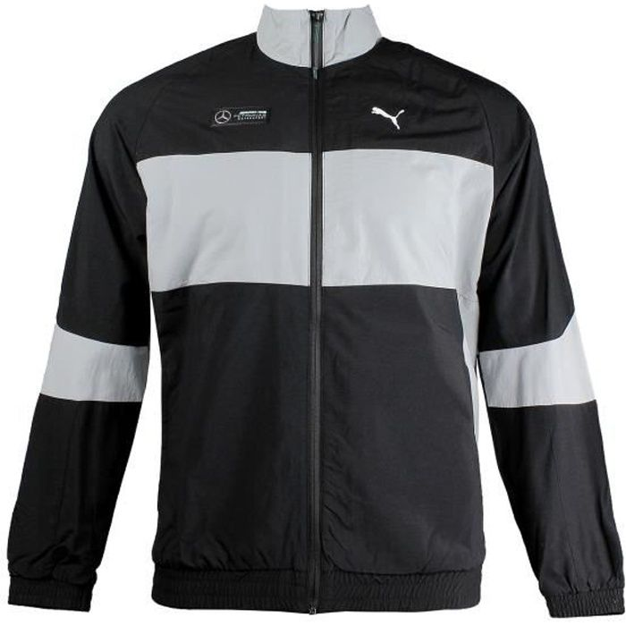 Veste de survêtement Puma Mercedes APM Woven Jacket F1 coloris Black